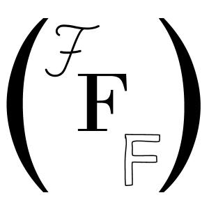Square logo initials