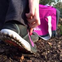 Nike Zoom Terra Kiger Trail Shoes / Adidas Gym Bag