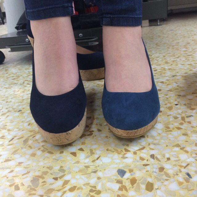 75d4ab67e08 Russell   Bromley   Stuart Weitzman Corkswoon Wedges vs Sainsbury s ...