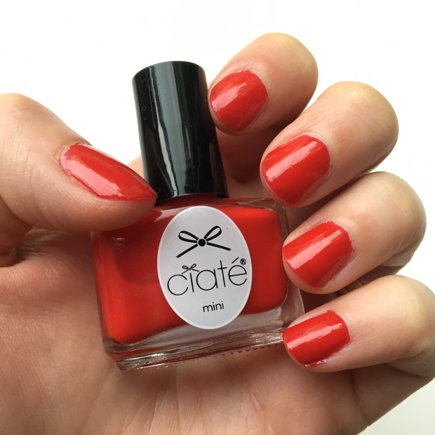 Boudoir from Ciate's Mini Mani Month Advent calendar: nail swatch
