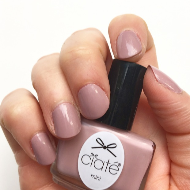 Iced Frappe from Ciate's Mini Mani Month Advent calendar: nail swatch