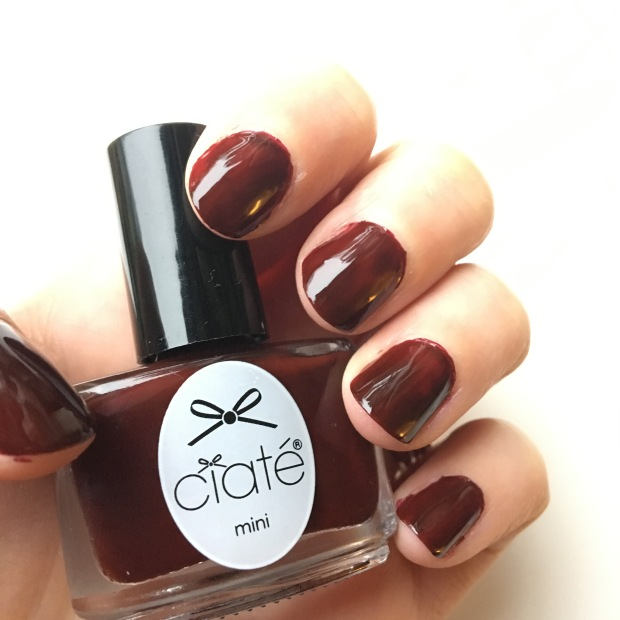 Raising The Barre from Ciate's Mini Mani Month Advent calendar: nail swatch