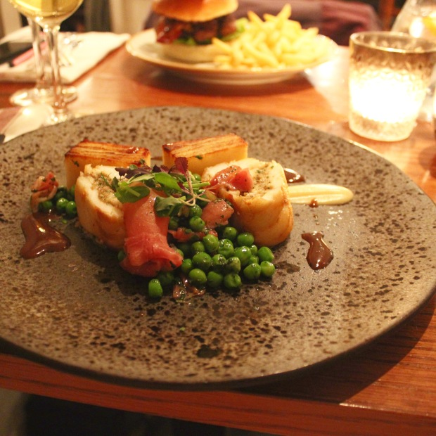 Roast Hake Jerusalem Artichoke gratin White Star Tavern Southampton Restaurant Review Food Fash Fit