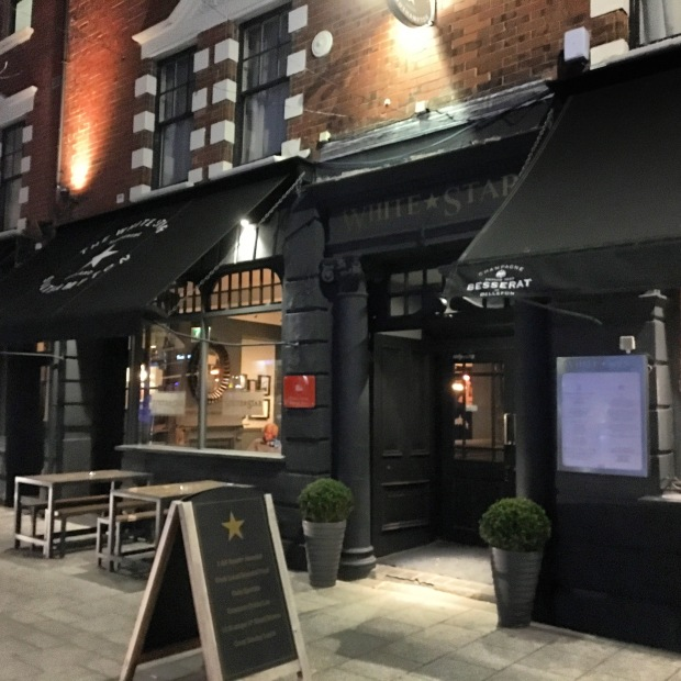 White Star Tavern Southampton Restaurant Review Food Fash Fit exterior