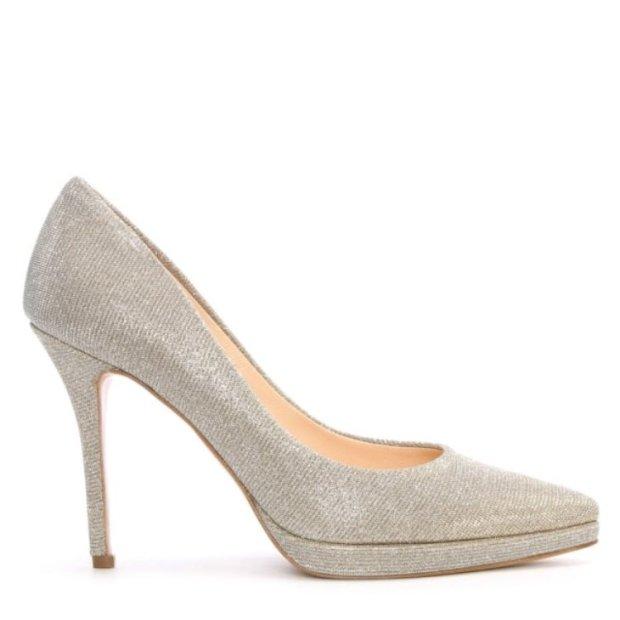 daniel-ademet-silver-sparkly-mesh-low-platform-court-shoe