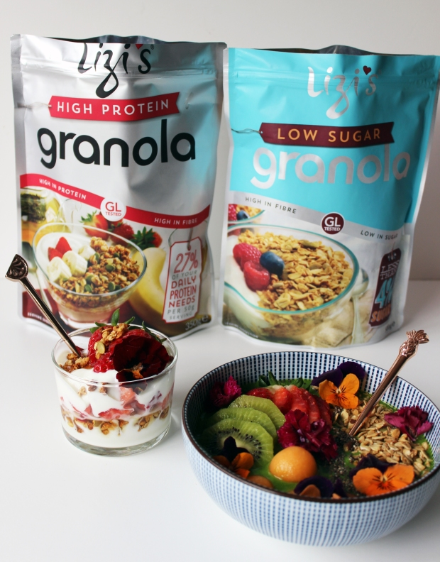 Lizi's Granola Healthy Breakfast recipe FoodFashFit main