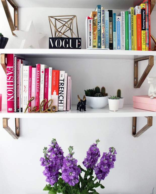 Food Fash Fit office interior shelves purple stocks.JPG