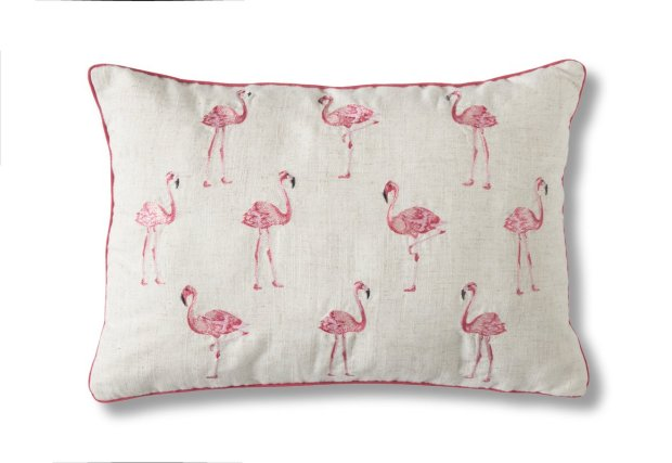 Edford+Flamingo+Scatter+Cushion