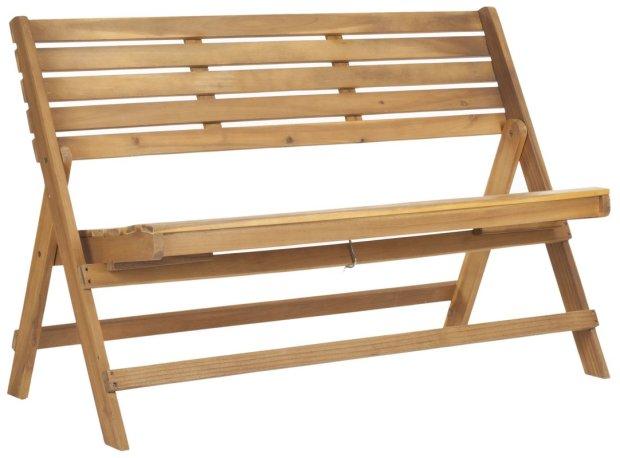 Malibu+Wooden+Bench