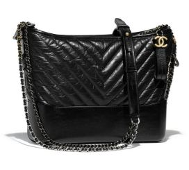 Chanel Gabrielle Black Hobo Bag Duchess of Sussex Meghan Markle