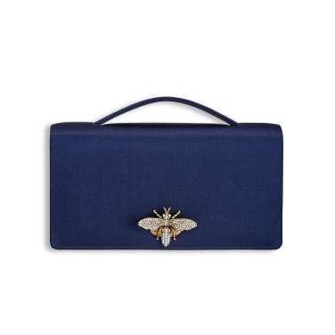 Dior satin clutch Duchess of Sussex Meghan Markle