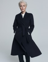 Gillian Anderson Winser London Swing Coat Duchess of Sussex Meghan Markle