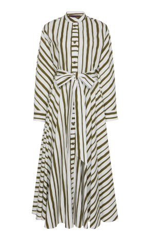 Martin Grant Striped cotton dress Duchess of Sussex Meghan Markle
