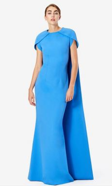 Safiyaa Gingko Cape Dress Duchess of Sussex Meghan Markle